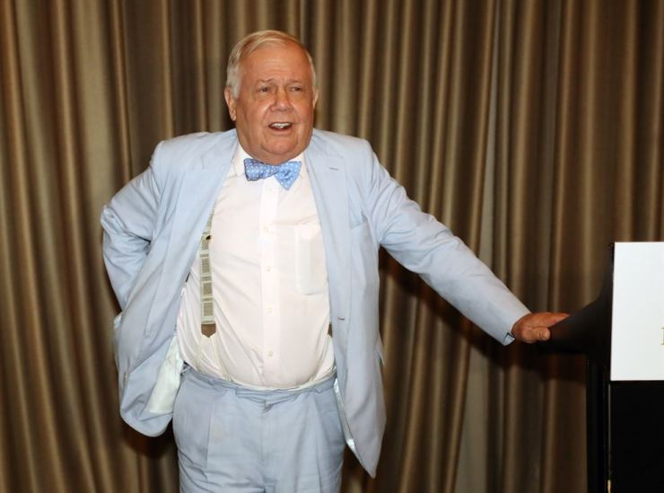 Jim Rogers, chairman of Rogers holdings and Beeland Interests / Yonhap