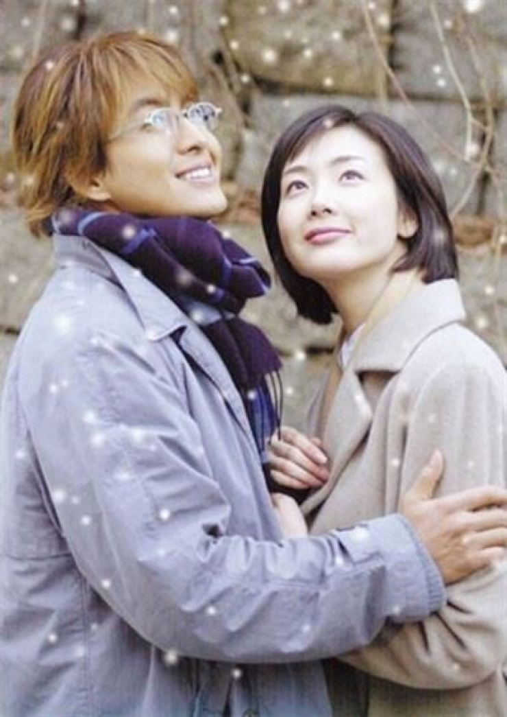 Actors Bae Yong-joon and Choi Ji-woo rose to fame after starring in the melodrama 'Winter Sonata' in 2002. Courtesy of KBS