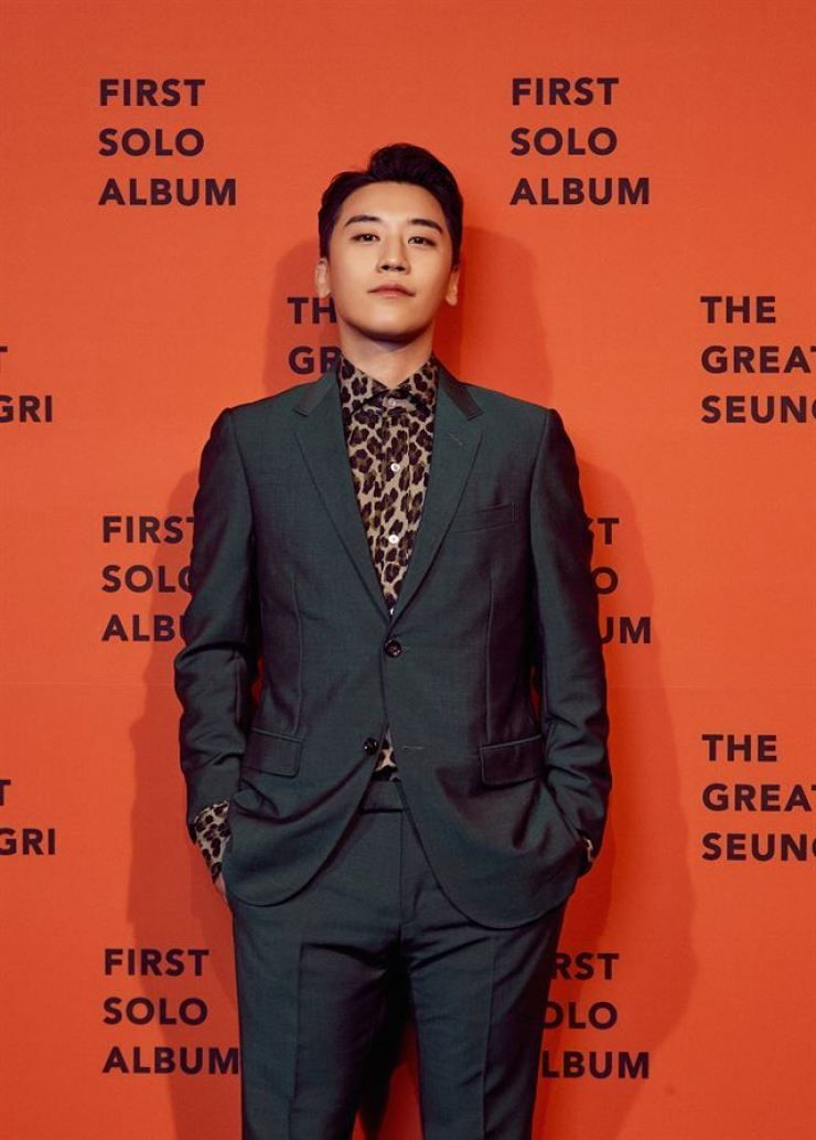 Seungri, a member of K-pop band Big Bang, was a board member of Burning Sun, a nightclub in southern Seoul that closed recently amid allegations of drug use by the staff to assist VIP customers' rape of young women. / Courtesy of YG Entertainment
