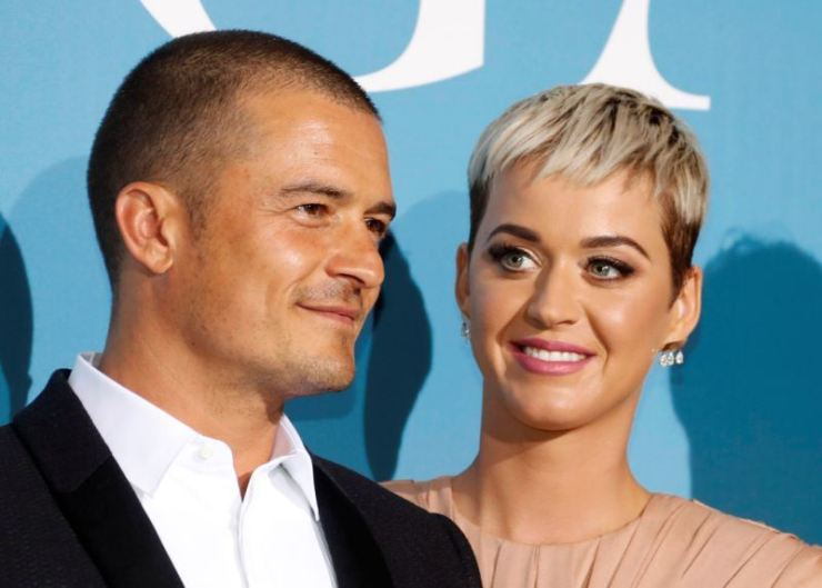 Katy Perry and Orlando Bloom / Reuters