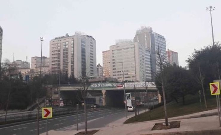 This photo taken on Monday shows a neighborhood of Istanbul, where a South Korean businessman was assaulted in the middle of January. Yonhap
