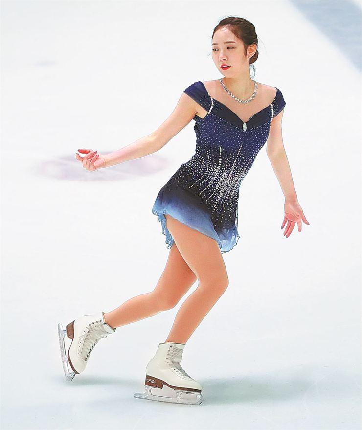 Figure skater Choi Da-bin Yonhap
