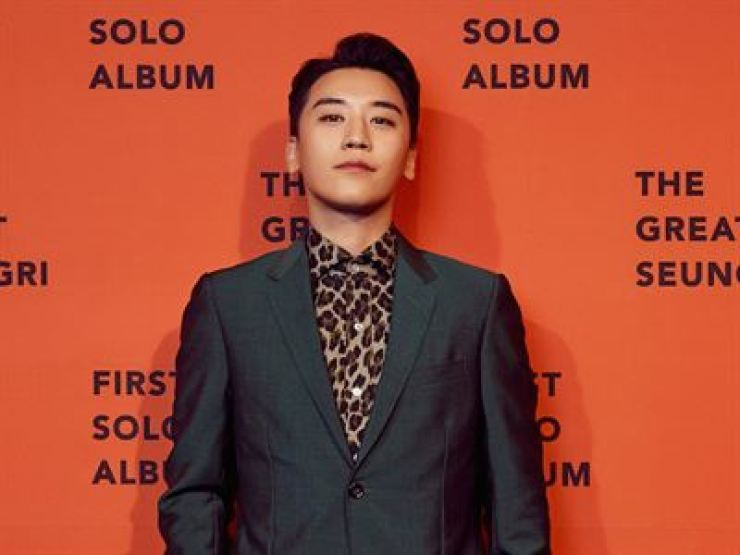 K-pop boy band BIGBANG's Seungri. Korea Times file