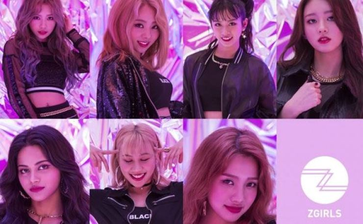 Z-GIRLS, a K-pop girl band without Koreans, will debut on Saturday. Courtesy of Zenith Media Contents