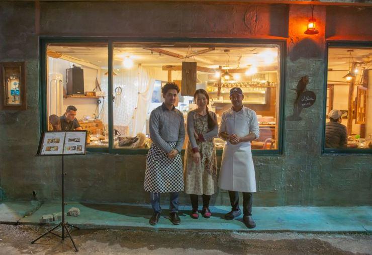The Yemeni restaurant 'Wardah' is in Jeju City on Jeju Island. Courtesy of the UNHCR Korea