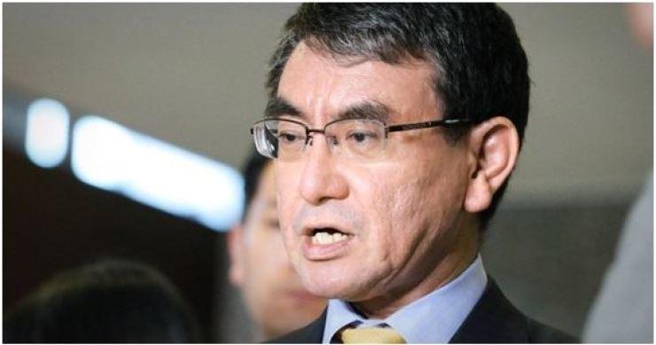 Japanese Foreign Minister Taro Kono / Korea Times file