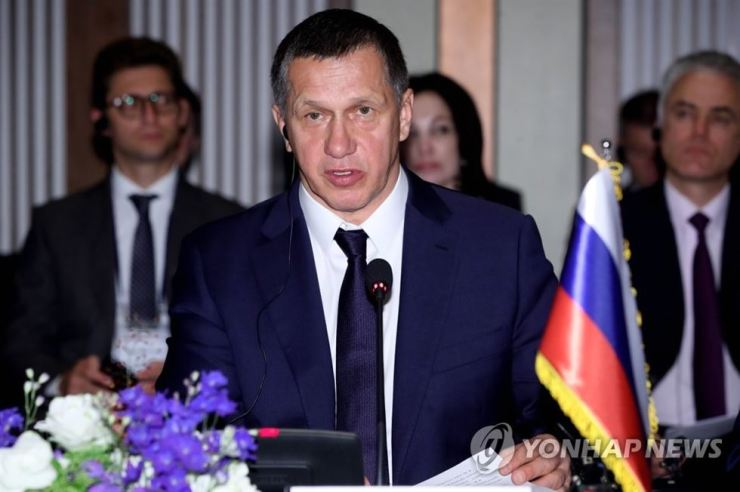 This file photo shows Yuri Trutnev, Russia's deputy prime minister and presidential envoy to Russia's Far East. Yonhap