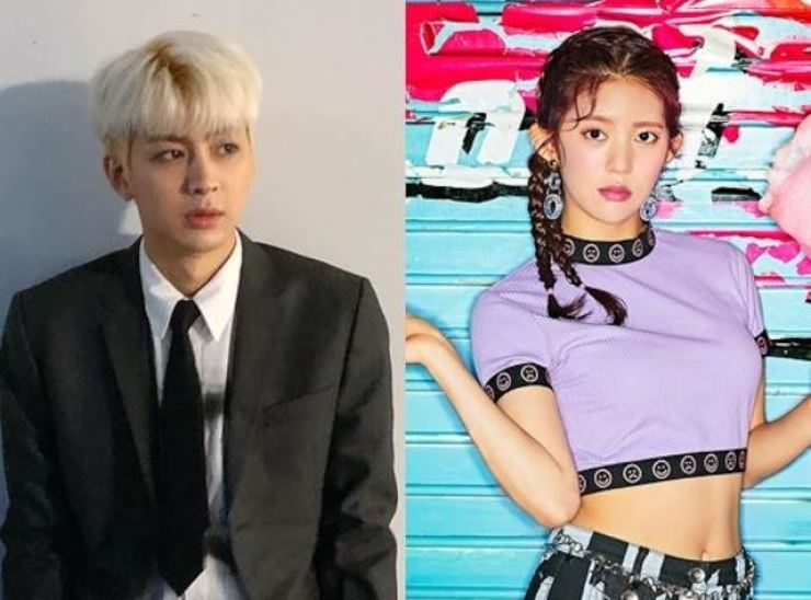 iKON's Song Yun-hyeong denied the dating rumor, but Momoland's Daisy confirmed it. Capture from Song's Instagram, Courtesy of MLD Entertainment