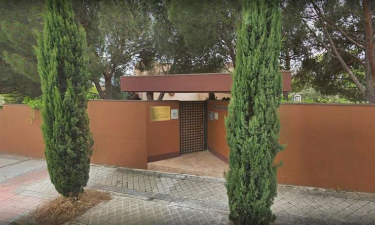 North Korea embassy in Madrid, Spain. Captured from Google