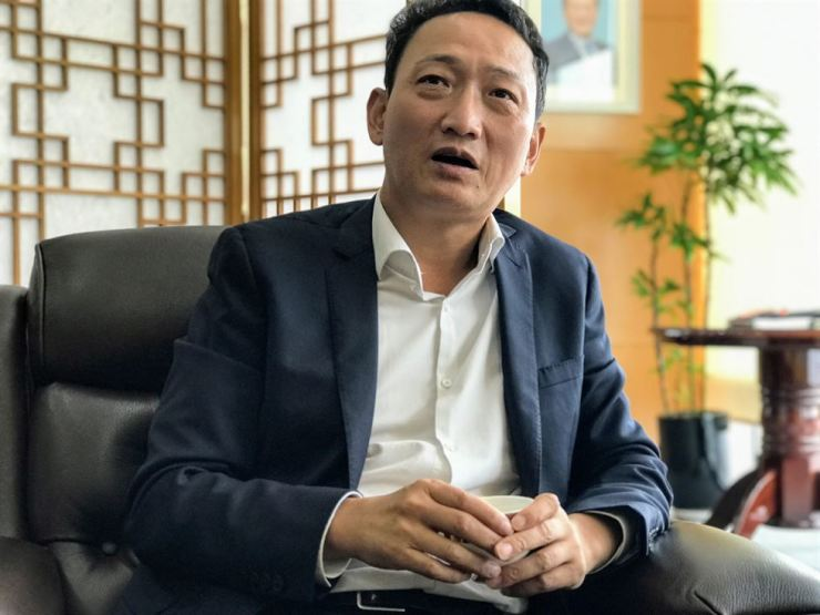 Ambassador Kim Do-hyun from the South Korean Embassy to Vietnam. Korea Times file