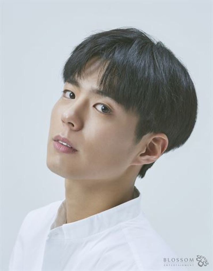 Actor Park Bo-gum will play a human clone in a new movie tentatively titled 'Seobok.' Courtesy of Blossom Entertainment