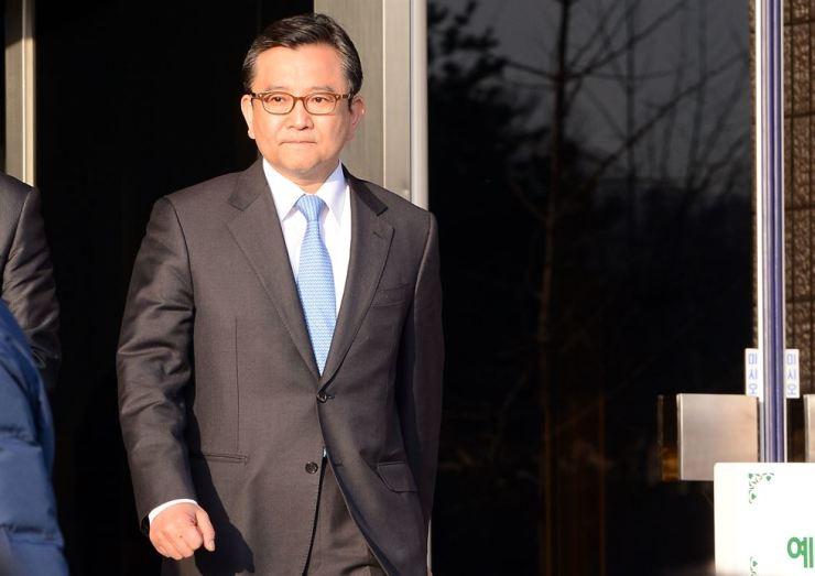 Former Vice Justice Minister Kim Hak-ui / Korea Times file