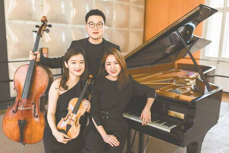 Lux Trio will be the next performers featured in this series. Courtesy of Kumho Art Hall