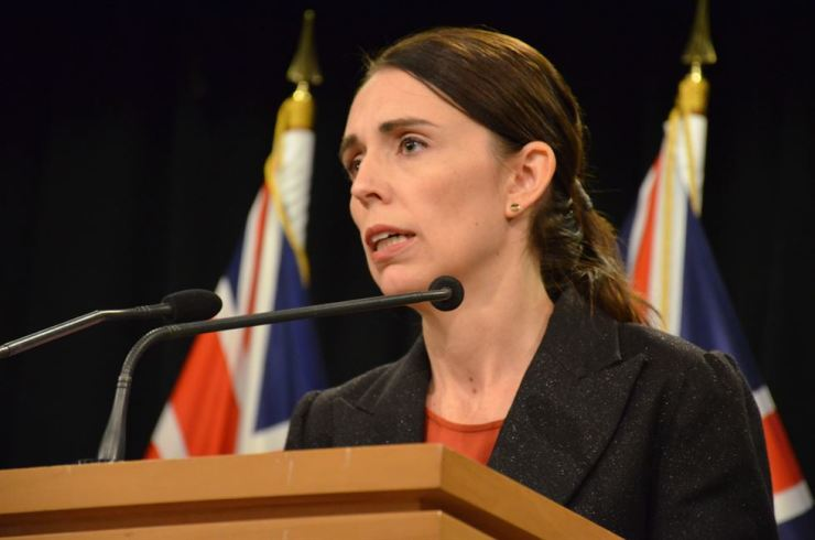 New Zealand's Prime Minister Jacinda Ardern addresses media in Wellington, New Zealand, March 15. At least 49 people were killed after a gunman opened fire in two mosques in Christchurch. EPA