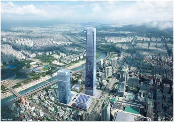 Rendered image of Hyundai Motor Group's new headquarters in Samseong-dong, Seoul / Courtesy of Seoul Metropolitan Government