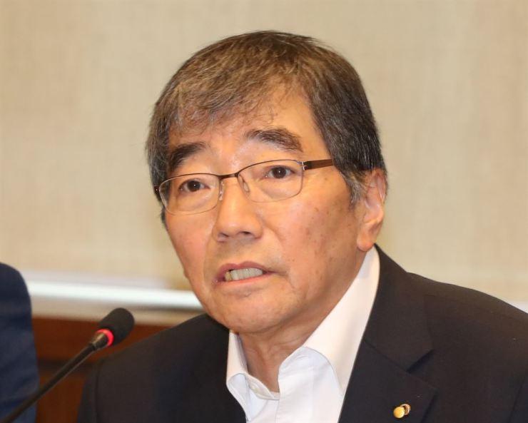 Financial Supervisory Service (FSS) Governor Yoon Suk-heun