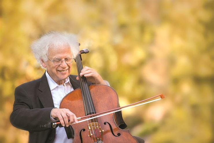 Laurence Lesser will be the next performer featured in the Beautiful Thursday Concert Series. Courtesy of Kumho Art Hall