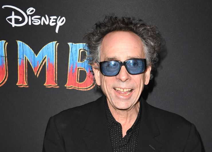 In this file photo taken on March 11, U.S. director Tim Burton arrives for the world premiere of Disney's 'Dumbo' at El Capitan theatre in Hollywood. AFP