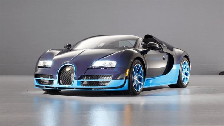 A Bugatti Veyron, the model once owned by an imprisoned stock analyst whose parents were recently murdered. From Bugatti.com