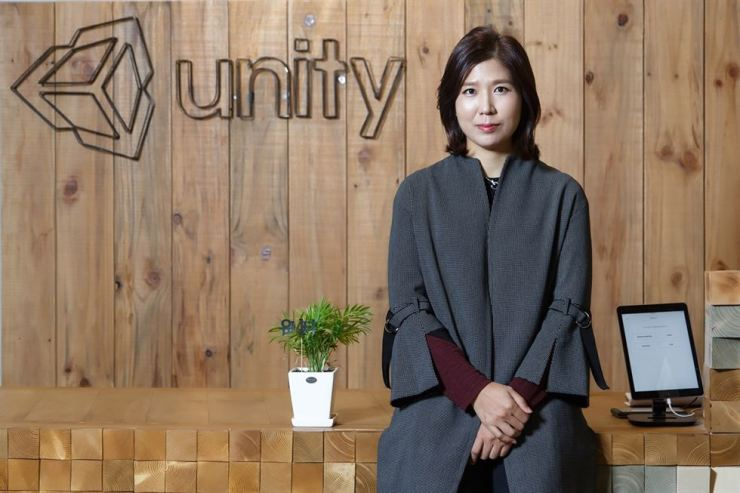 Suzie Kim, country manager of Unity Technologies Korea / Courtesy of Unity Technologies Korea