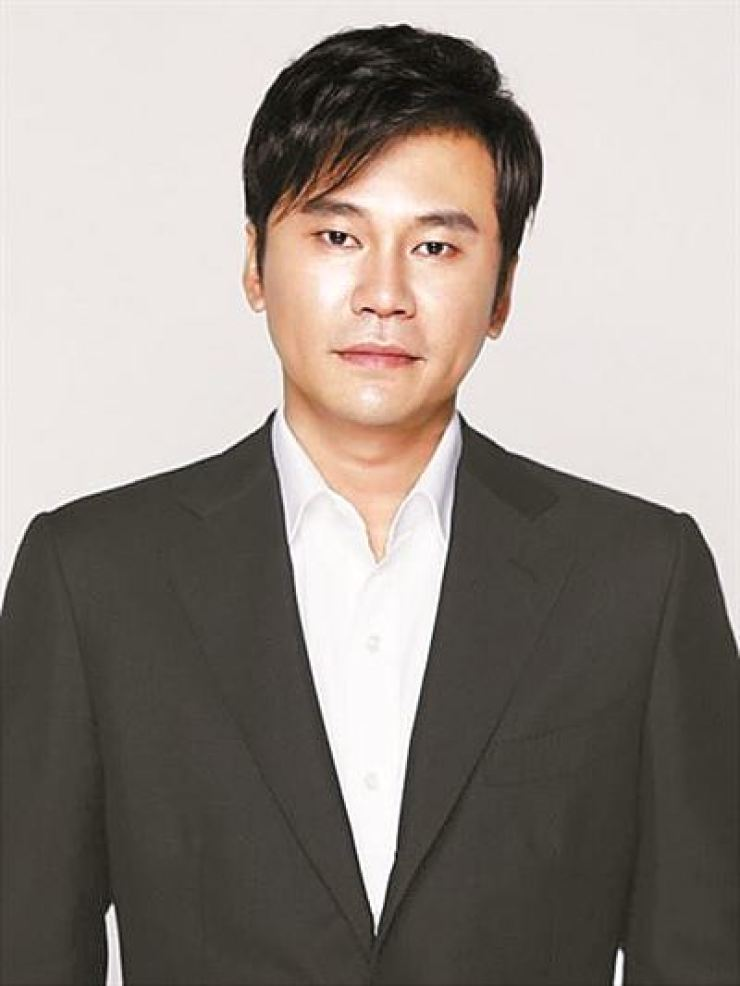 YG Entertainment's CEO Yang Hyun-suk