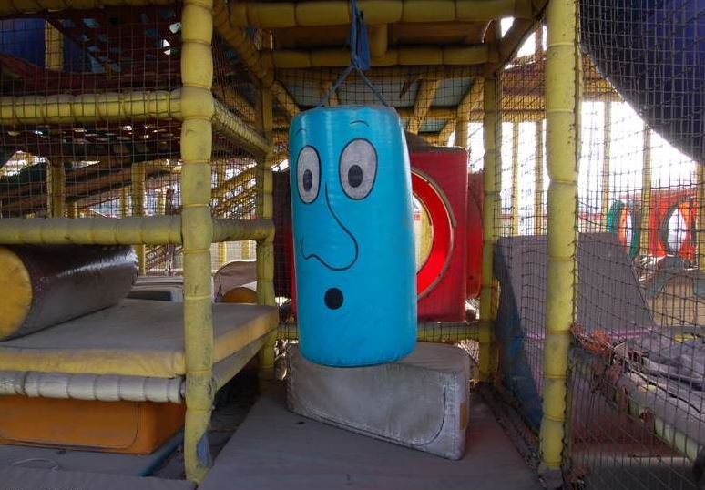 Various rides are left abandoned at Woncheon Lake Land Amusement Park in this 2009 file photo. / Courtesy of Ron Bandun