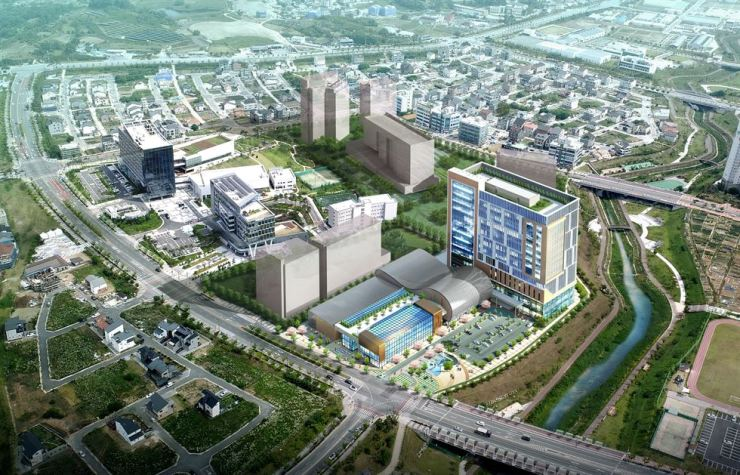 The North Jeolla provincial government's blueprint for a third finance center in the city of Jeonju / Korea Times file