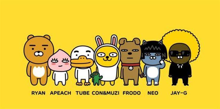 Kakao Friends characters / Courtesy of Kakao