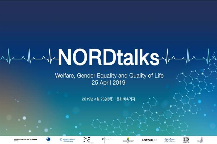 Poster for second NORDtalks on April 25 / Embassy of Sweden