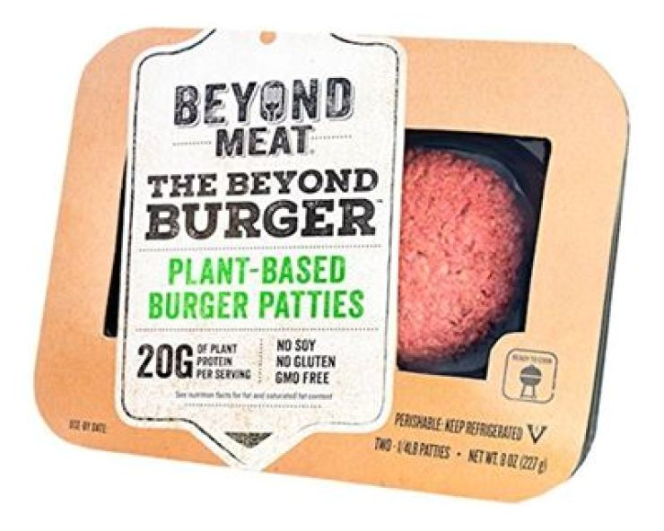 Plant-based patty product of Beyond Meat / Courtesy of Dongwon F&B