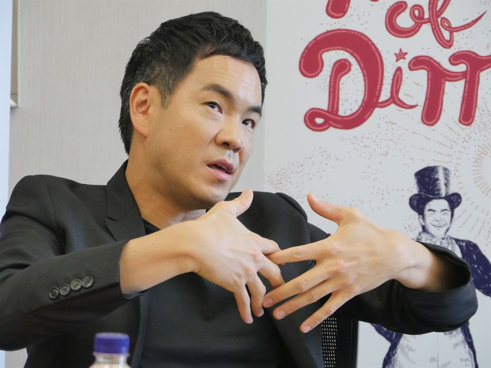 Richard Yongjae O'Neill speaks during a press conference at Somerset Palace Seoul, Monday. Courtesy of Credia