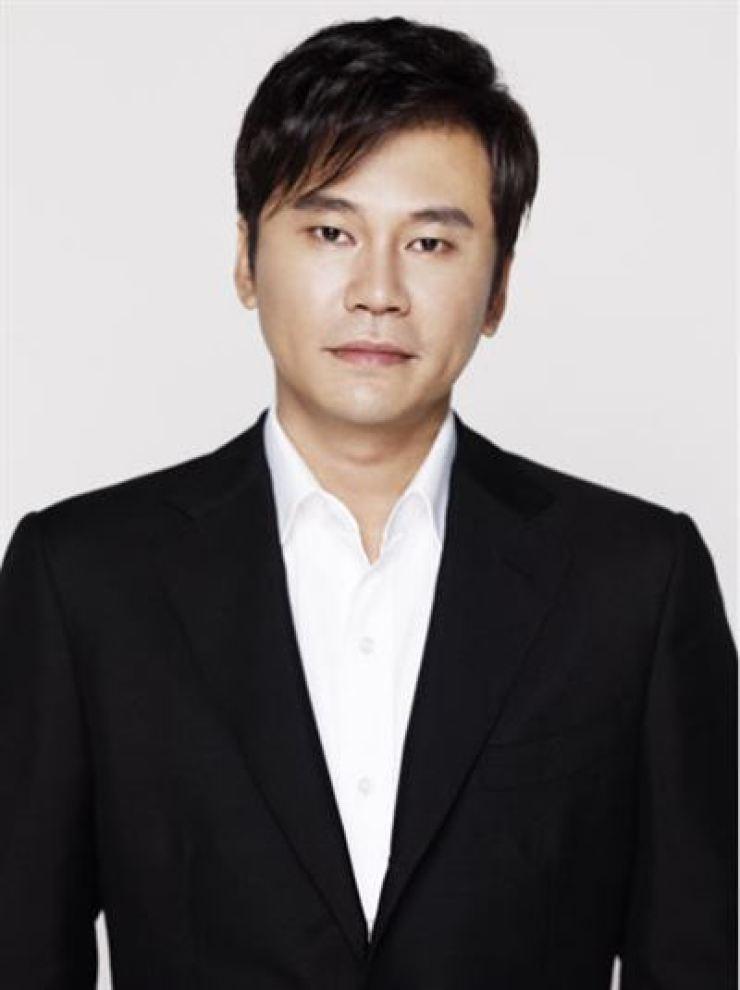 YG Entertainment founder Yang Hyun-suk