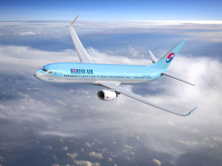 Korean Air's Boeing B737-900ER. Courtesy of Korean Air