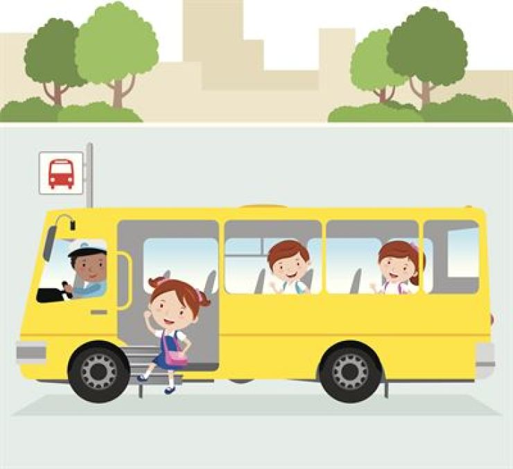 All school and kindergarten buses are required to install a system to check whether all children aboard get off, starting Wednesday following a revision of the relevant law. /Gettyimagesbank