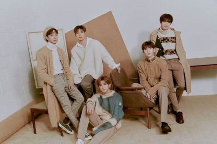 NU'EST members have reunited to make an album that will hit the market on April 29. Courtesy of Pledis Entertainment