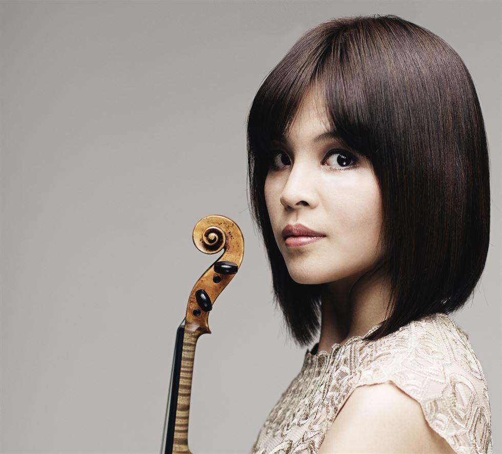 Violinist Lee Ji-yoon. Courtesy of WCN