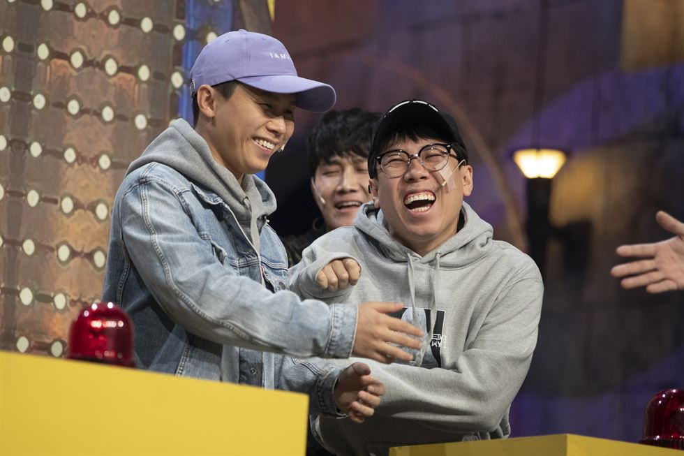 A tvN's 'Comedy Big League' rehearsal is held at CJ E&M Center in Sangam-dong, Mapo-gu, Seoul, Tuesday. Korea Times photo by Choi Won-suk