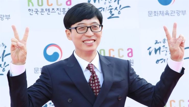 Yoo Jae-seok is a comedian extraordinaire, respected and well mannered. Yonhap