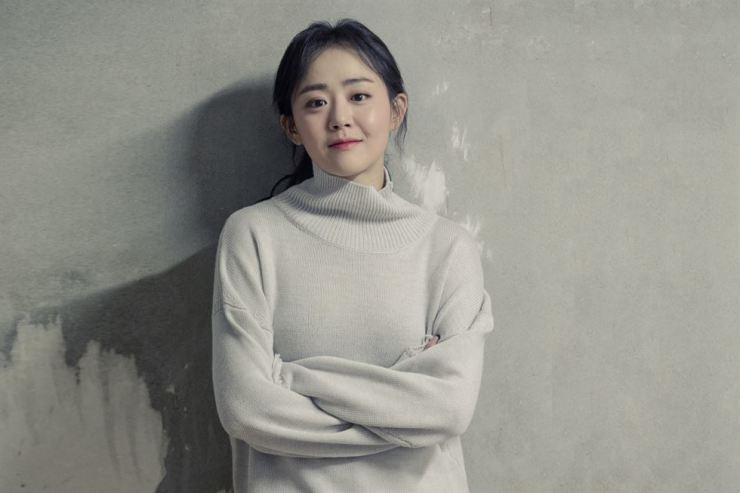 Actress Moon Geun-young. Courtesy of Namoo Actors