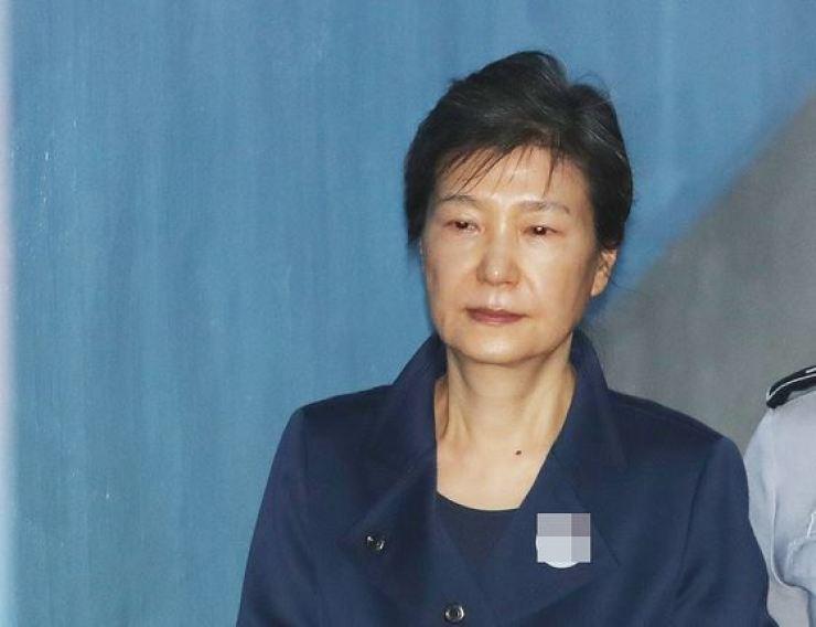 Former President Park Geun-hye. Korea Times file