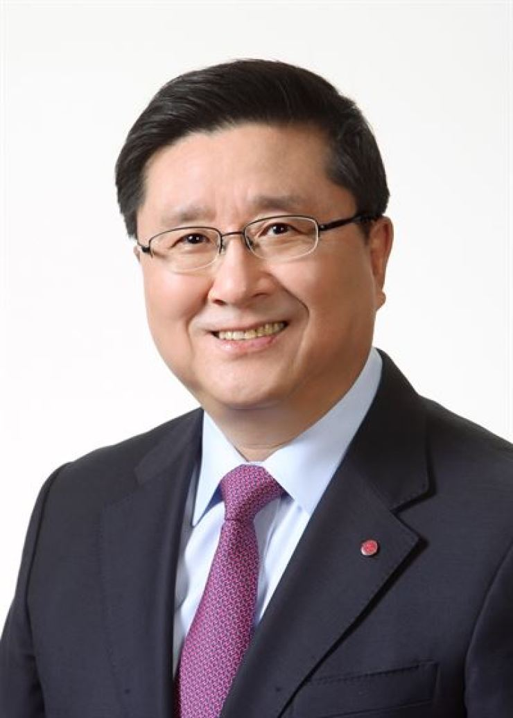 LG Display CEO and Vice Chairman Han Sang-beom