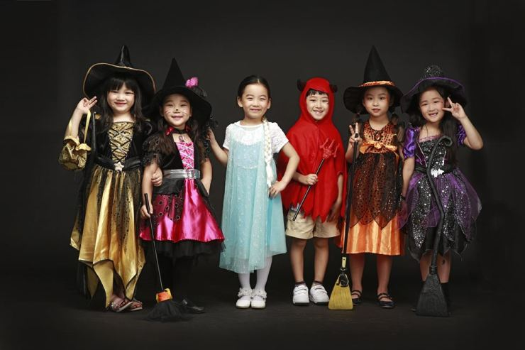 Child stars managed by Kiana Entertainment / Courtesy of Lotte Department Store