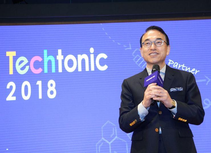 Hong Won-pyo, president and CEO of Samsung SDS
