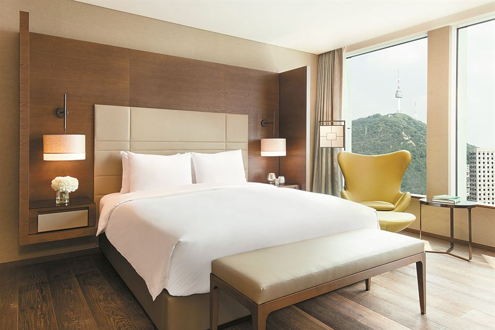 The Courtyard Marriott Seoul Namdaemun opened in May 2016 as the third Courtyard property in Korea. / Courtesy of Courtyard Marriott Seoul Namdaemun