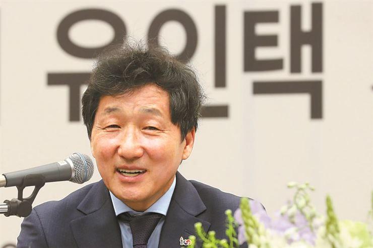Seoul Arts Center CEO Yoo In-taek. Yonhap