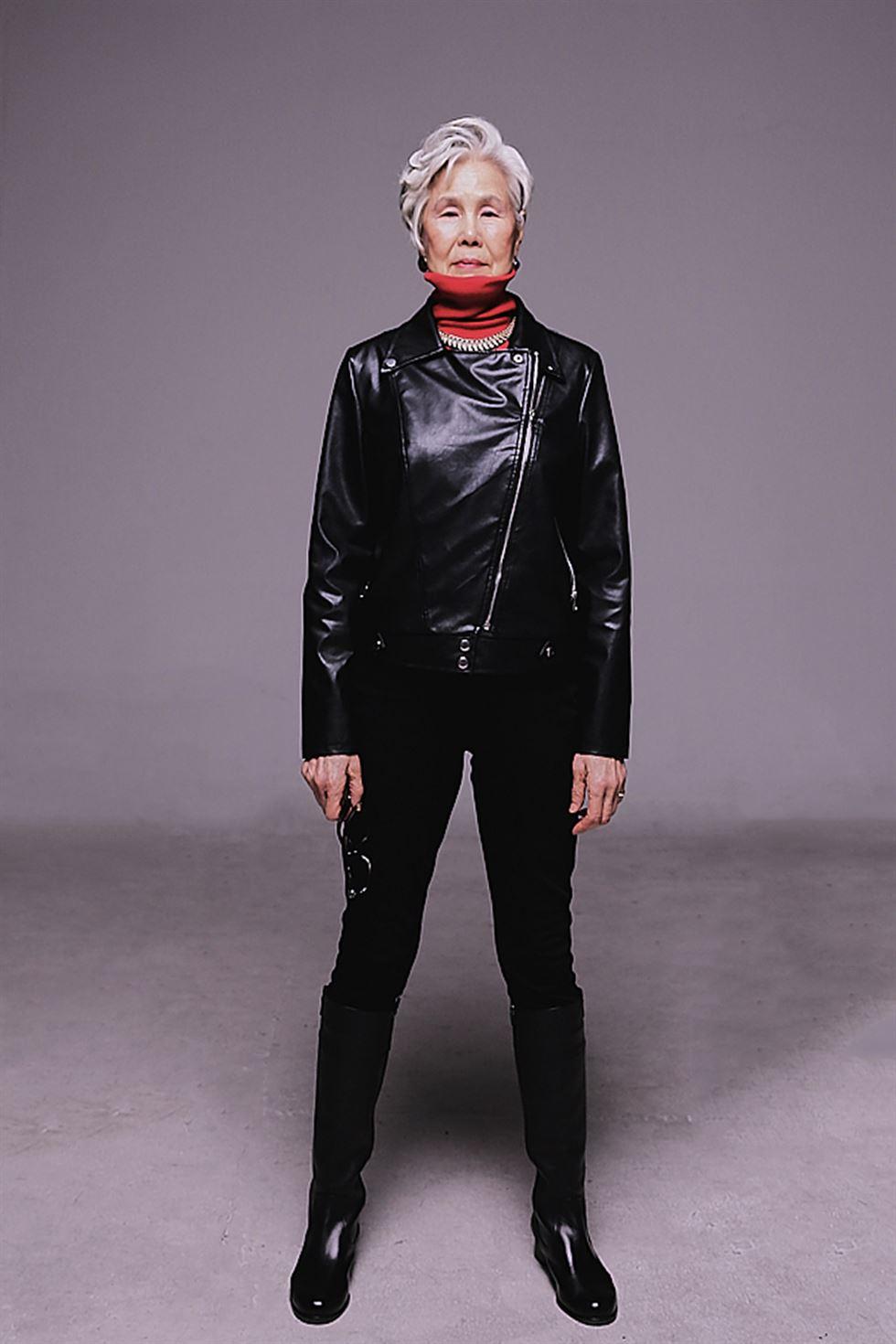 Hottest elderly model _ Kim Chil-doo / Courtesy of TSP Model