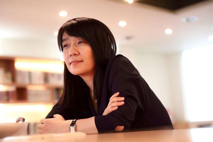 Han Kang. Korea Times file