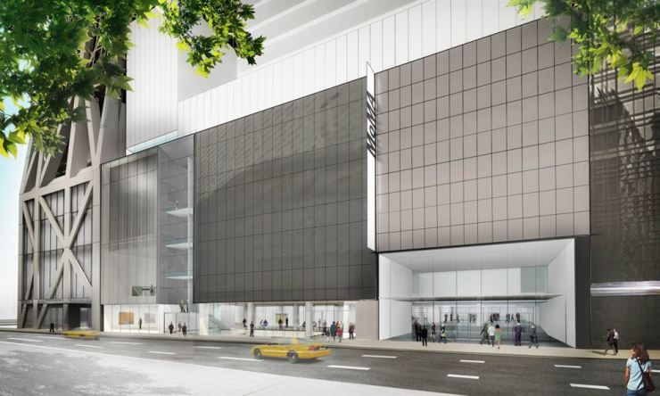 Exterior view of The Museum of Modern Art on 53rd Street / Courtesy of MoMA
