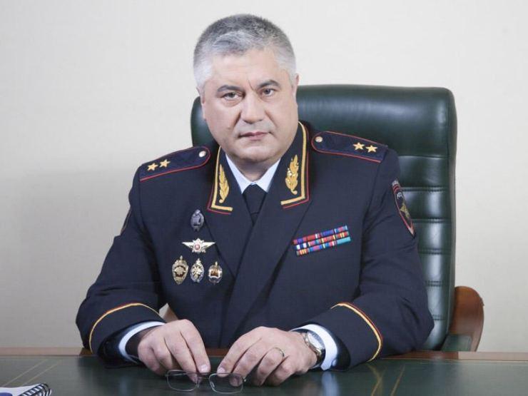 Russian Interior Minister Vladimir Kolokoltsev TASS