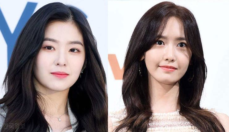 Irene (Red Velvet) and Yoona (Girls' Generation) have the most sought-after faces, according to a plastic surgeon. Korea Times file